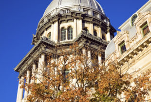 Illinois State Capitol building.