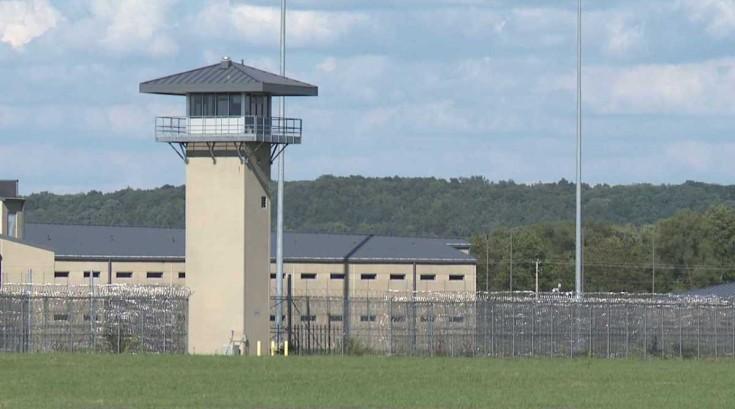 Photo of the Thomson Correctional Center, Thomson Correctional Center is an Illinois maximum security prison.