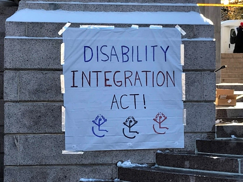 """Poster of """"Disability Integration Act"""" (DIA)"""